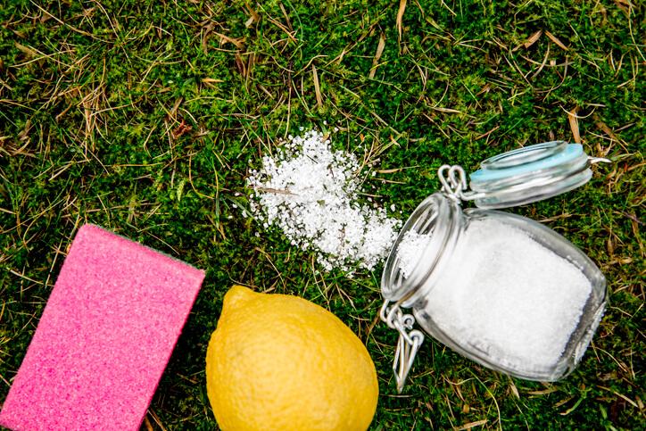 Essig und Zitronensäure