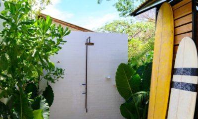 Gartendusche installieren