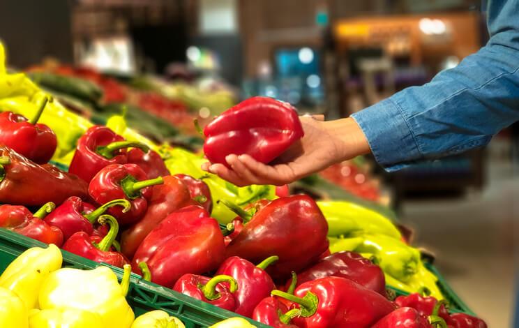 Die richtige Paprika kaufen