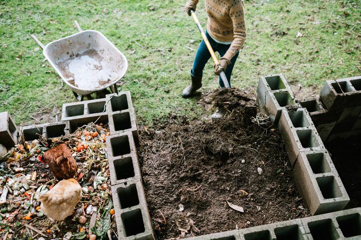 Komposthaufen richtig anlegen