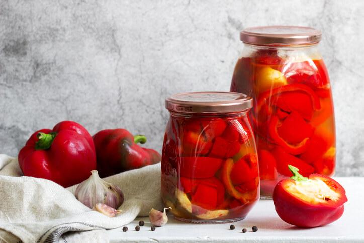 Tipp Nr. 1 Die Paprika einkochen