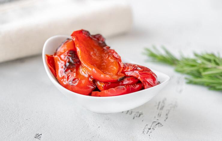 Tipp Nr. 2 Die Paprika in Öl einlegen